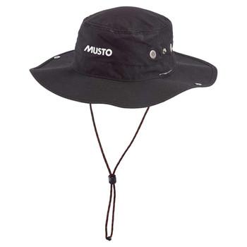 Musto Evolution Fast Dry Brimmed Hat - Black