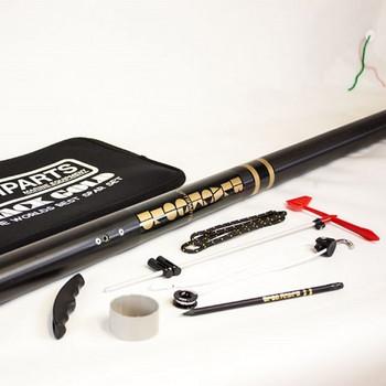 Optiparts Optimist Blackgold Mast Rigging Set