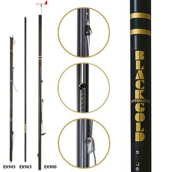 Optiparts Optimist Blackgold Mast Set