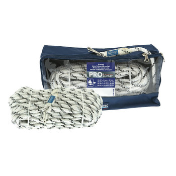 Polyropes Proline Main Halyard Line White inc Shackle 10mm x 35m