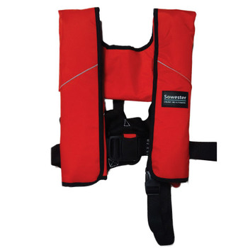 Sowester Cruise Lifejacket Auto 180N Red