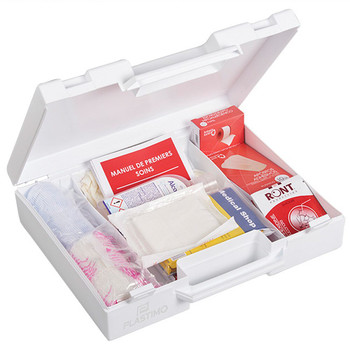 Plastimo Offshore and River First Aid Kit - White - Pharmacy coastal armrests