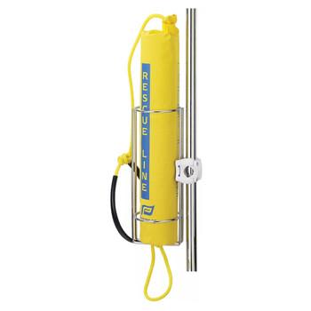 Plastimo Rescue Line Holder Bracket - Stainless Steel