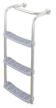 Plastimo Scoop Stern & Platfrom Boarding Ladder - 1 Step + 3 Step