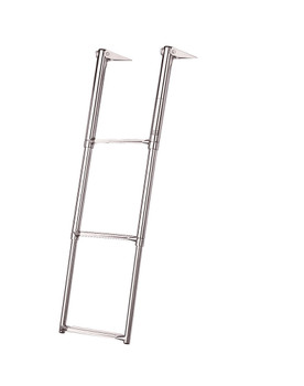 Plastimo Scoop Stern & Platform Telescopic Folding Boarding Ladder - 3 Step