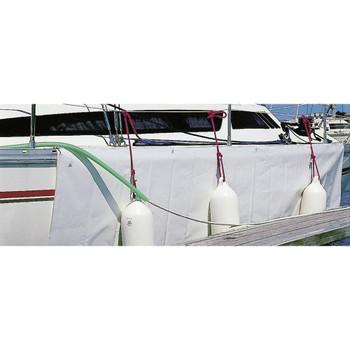 Plastimo PVC Hull Fender Protection Sheet - White - Pack of 2