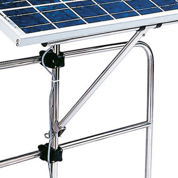 Plastimo Solar Panel Holder - Swiveling, Pushpit Mounted Bracket