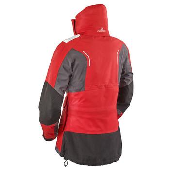 Plastimo Activ' Sailing Jacket - Women - Red - Back view