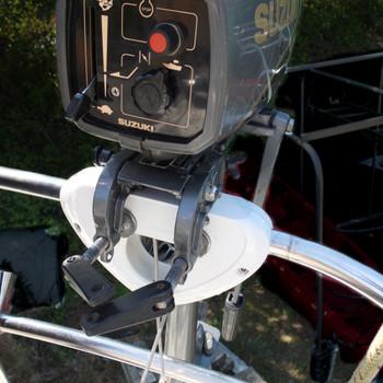 Plastimo Outboard Motor Holder White