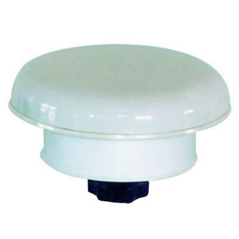 Plastimo Flat and Mushroom Vent - White