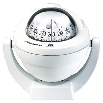 Plastimo Bracket White Conical Card Offshore 95 Compass - White