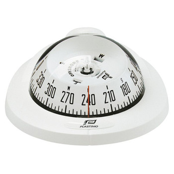 Plastimo Offshore 75 Compass - Horizontal  - White