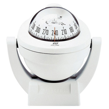 Plastimo Offshore 75 Compass - Bracket - White
