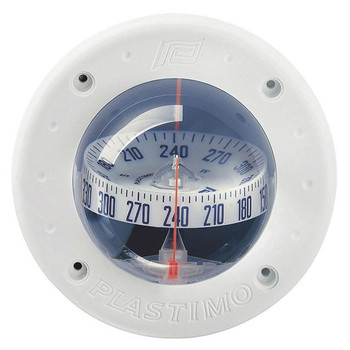 Plastimo Mini-C Compass - White - Straight View