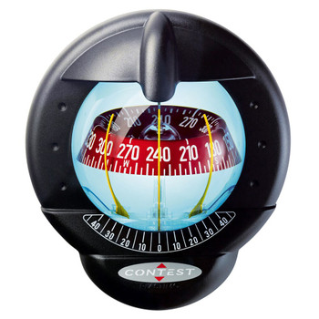 Plastimo Contest 101 Compass - Vertical - Red Card - Black 64416