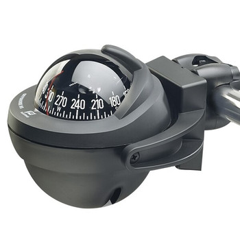 Plastimo Offshore 95 Compass - Bracket - Black Conical Card - Black