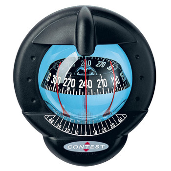 Plastimo Contest 101 Compass - Black - Vertical - Black Card