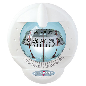 Plastimo Contest 101 Compass - White - Vertical - White Card 64423