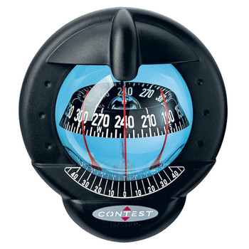 Plastimo Contest 101 Compass - Black - 10-25° - Tilted Black Card  - Black