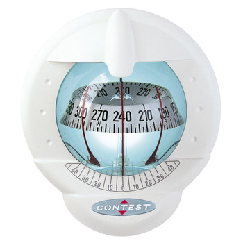 Plastimo Contest 101 Compass - White - 10-25° - Tilted White Card  - White