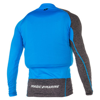 Magic Marine Long Sleeve Racing Overtop - Unisex - Blue - Back view