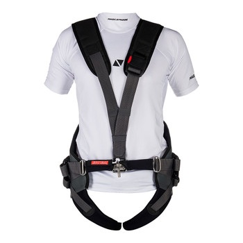 Magic Marine Pro Racing Harness - Unisex - Black - Front view