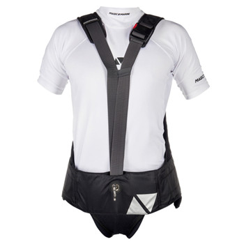 Magic Marine Wing Harness - Unisex - Black - Front view
