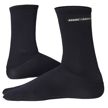 Magic Marine Metalite Socks - Unisex - Black
