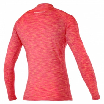 Magic Marine Long Sleeve Cube Rashvest - Women - Pink - Back View