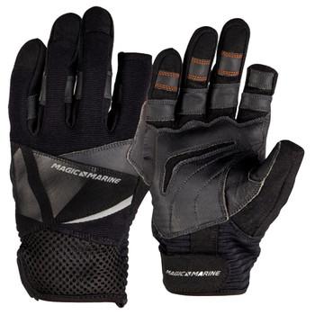 Magic Marine Full Finger Ultimate Gloves - Unisex - Black