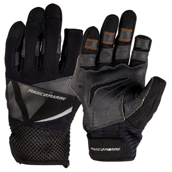 Magic Marine Full Finger Ultimate Gloves - Unisex - Black