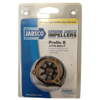 Jabsco 14750-0003 Impeller - Nitrile - Pack View