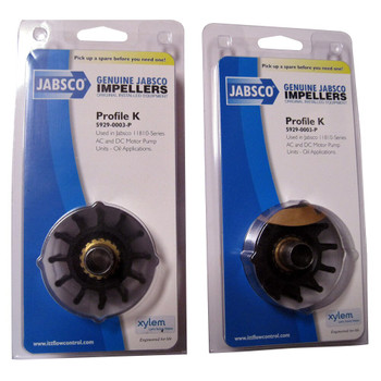 Jabsco 5929-0003 Impeller - Nitrile - Pack View
