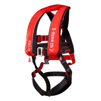 Mullion Hi-Rise 275N SOLAS LifeJacket+ Fall Arrest Harness