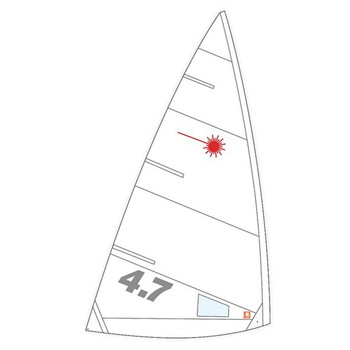 Laser 4.7 Sail Class Compliant