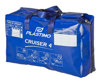 Plastimo Cruiser 4P Std Liferaft Valise