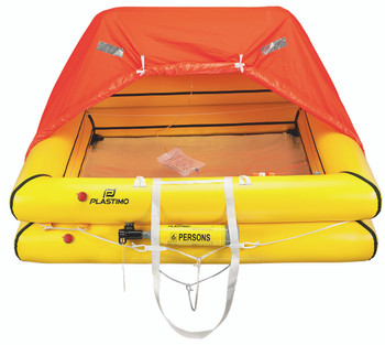 Plastimo Liferaft Cruiser 6 Person Standard Canister