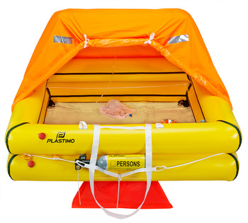 Plastimo Liferaft Cruiser 8P Std Canister - inflated