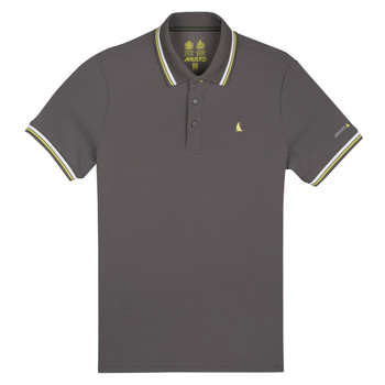 Musto Evolution Pro Lite Short Sleeve Polo Shirt - Men - Charcoal
