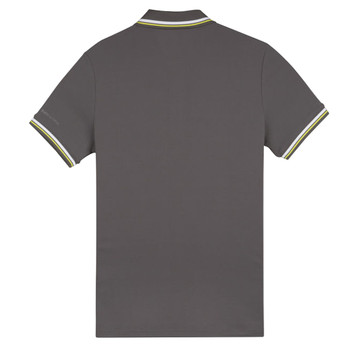 Musto Evolution Pro Lite Short Sleeve Polo Shirt - Men - Charcoal - Back View