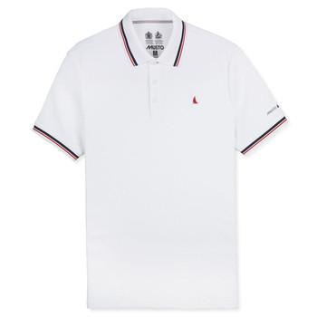 Musto Evolution Pro Lite Short Sleeve Polo Shirt - Men White