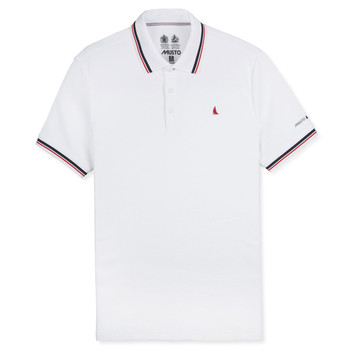 Musto Evolution Pro Lite Short Sleeve Polo Shirt - Men White