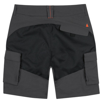 Musto Evolution Pro Lite UV Fast Dry Shorts - Men - Charcoal - Back View