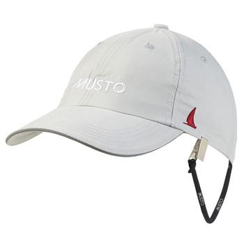 Musto Essential Fast Dry Crew Cap - Platinum