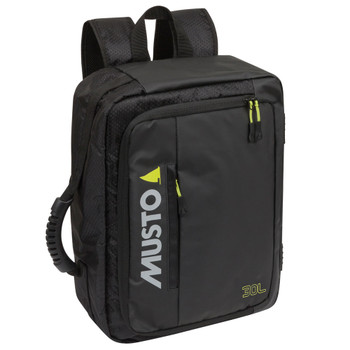 Musto Essential Navigator Backpack - Black - 30L