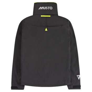 Musto BR1 Inshore Jacket - Men - Black - Back View