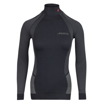 Musto Active Base Layer Long Sleeve Top - Women - Black