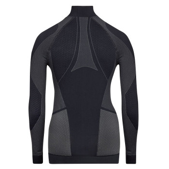 Musto Active Base Layer Long Sleeve Top - Women - Black - Back View