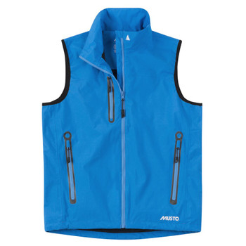Musto Sardinia BR1 Gilet - Men - Brilliant Blue - Front View