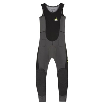 Musto Foiling Thermocool Impact Wetsuit - Men - Dark Grey / Black - Front View